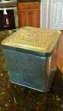 """Collectible Vintage Lipton Lipton's Tea Tin 4.5""""w x 4.75""""t NICE Planter Ceylon"""