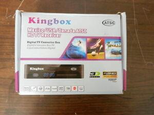 Kingbox ATSC HDTV Receiver - Digital TV converter box, - brand new