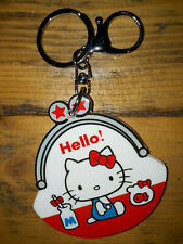 Hello Kitty Mirror Key Ring Bag Charm New 5th Anniversary Sanrio Lootcrate Rare