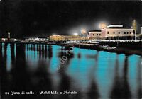 Cartolina - Postcard - Fano - Hotel Lido e Astoria - by night - VG