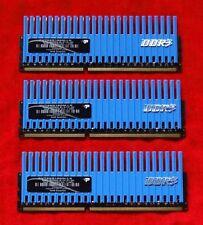 Patriot Extremo Viper 6gb (3x2GB) DDR3-1600 Ram 8-8-8-24 PVT36G1600LLK