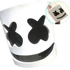 MarshMello DJ Mask Full Head Helmet Halloween Cosplay Bar Music Party Props /B7