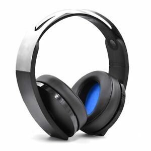 Sony PlayStation 4 Platinum Wireless Headband Headset 3D Audio Virtual 3001566