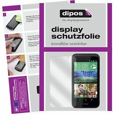 2x HTC Desire 526G Schutzfolie klar Displayschutzfolie Folie dipos Displayfolie