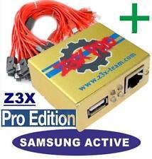 SAMSUNG S5 S6 S7 Z3X SERVICE / UNLOCK REPAIR FLASH BOX CLIP SAMPRO ACTIVATED BOX