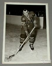 Original 1959-60 Springfield Indians Gerry Foley Photo