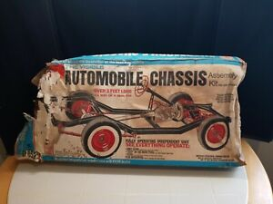Rare 1960`S RENWAL Model Kit The Visible Automobile Chassis Assembly Kit No. 813