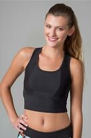 New SOYBU Women's Mila Sports Gym Yoga Bra Walking Training Black Size Small