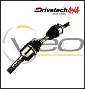SUBARU FORESTER SG 2.5L 7/02-7/08 DRIVETECH 4X4 LEFT/RIGHT DRIVESHAFT ASSEMBLY