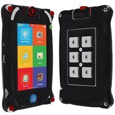 "Skinomi Carbon Fiber Black Skin+Screen Protect for Fuhu Nabi Jr. 5"" Tablet"