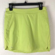 New listing Adidas Sz 10 Adizero Golf Tennis Skort Skirt Stretch Rare Pocket Lime Green Logo