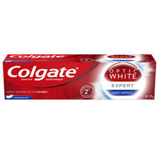 COLGATE TOOTHPASTE OPTIC WHITE HIGH IMPACT EXPERT WHITENING TEETH ORAL CARE 125g