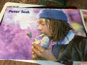 RETRO POSTER.PETER TOSH.REGGAE.1980S
