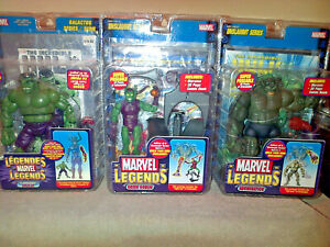 Marvel Legends -  mean and green, Toy Biz lot.