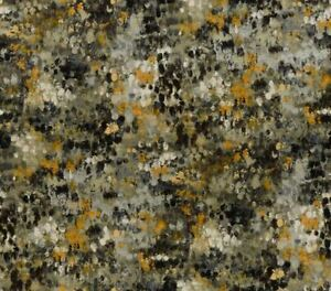 Kravet Couture Abstract Painterly Velvet Uphol Fabric- Painted Velvet Grey 8 yds