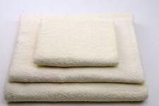 Set 3 asciugamani per bagno, telo grande, coppia asciugamani di viso + ospite