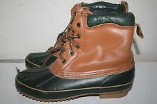 Men's Outdoor Exchange Snow winter Boots Leather Size 6 US STK#D5