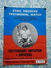 CYRIL KNOWLES TOTTENHAM SPURS A/&BC-FOOTBALL 1971 PURPLE BACK DYK-#247