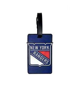 New York NY Rangers Travel Bag Tag Luggage ID Tag Team Colors NHL