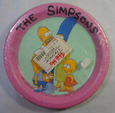 20th CENTURY FOX VTG 1991 THE SIMPSONS PARTY SUPPLIES PLATES SET SEALED