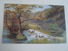 A R QUINTON Postcard 1025 FORGE VALLEY, Nr. SCARBOROUGH  Unposted  §A2305
