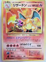 Charizard Holo #006 Base Set 1996 Japanese Pokemon Card Nintendo Very Rare F/S