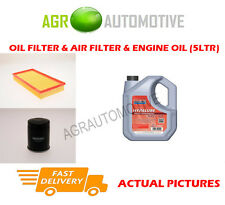 PETROL OIL AIR FILTER KIT + FS 5W40 OIL FOR VOLVO V40 1.8 122 BHP 1998-04