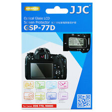 JJC LCD Ultra-thin Optical Glass Screen Film Protector for CANON EOS 77D 9000D
