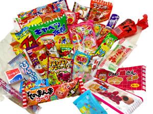 Japanese Dagashi Snacks Foods Assortment 31pcs Okashi Candy Free shipping