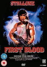 FIRST BLOOD - DVD - REGION 2 UK