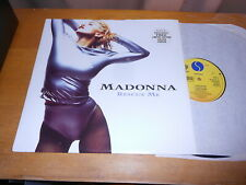 """Madonna 12"""" Rescue Me WITH POSTER 1990 UK ISSUE mint/new"""