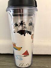 Starbucks PHILLIPINES Reusable Hot Cold Coffee Tumbler BORACAY Travel Mug 473m