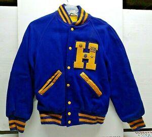 Vintage Awards Letterman Sweater Jacket