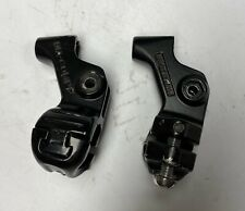 OLD SCHOOL BMX DIA COMPE FRONT & REAR TECH 7 BRAKE LEVER BODIES ONLY 128 RACE