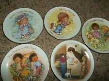 Set of 5 Avon Mothers Day Plates 1981 - 1985