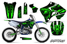Yamaha YZ125 YZ250 Dirt Bike Graphic Sticker Kit Decal Wrap MX 96-01 NIGHTWOLF G