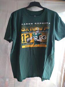 Green bay packers Aaron Rodgers Nr. 12 t Shirt in 2 XL wenig getragen.