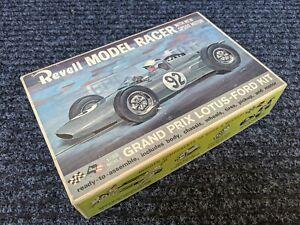 REVELL VINTAGE GRAND PRIX LOTUS-FORD 1/25th SCALE SLOT CAR NOS ORIGINAL