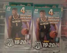 (2) 2019-20 Panini Mosaic NBA Basketball Trading Cards Hanger Box Sealed