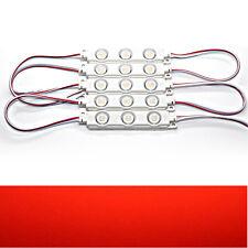 20x - rot - LED Module - DC 12V 3x 5730 SMD Werbetechnik Injektion High-Power