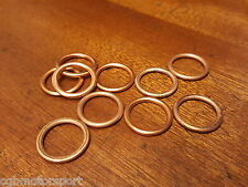 RENAULT 5 GT TURBO NEW SUMP PLUG COPPER WASHERS PACK OF 10
