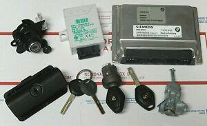 BMW 330i Engine Computer EWS Keys Door Trunk Tumbler Locks for Manual