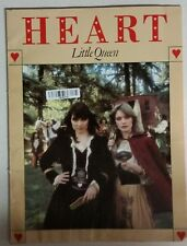 HEART LITTLE QUEEN SONGBOOK PIANO VOCAL GUITAR MUSIC BOOK NO TAB