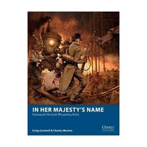 HER MAJESTY'S NAME - WARGAMES RULES -OSPREY PUBLISHING