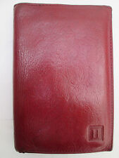 -AUTHENTIQUE portefeuille/porte-monnaie HEXAGONA  cuir  TBEG vintage
