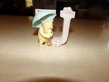 Disney Classic Winnie the Pooh Letter U