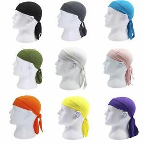 Bike Pirate Scarf Sports Bicycle Hat Headband Riding Cycling Cap Headscarf