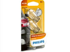 2x Philips 12066B2 W21 / 5W T20 Luz de Estacionamiento Lámpara Bombillas Freno /