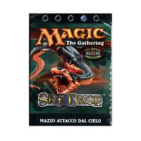 Magic The Gathering MTG Set Base Blu Mazzo Attacco dal Cielo Deck