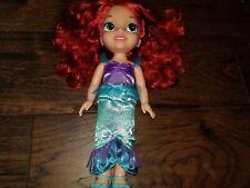 Jakks Pacific Disney Princess Ariel 14-Inch Toddler Doll Little Mermaid